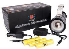 TOP CREE XM-L3 Akku-Handlampe LED Taschenlampe LED-Handstrahler 14000 LUMEN HELL