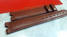 CARTIER OEM VENDOME BROWN LEATHER 17MM BAND STRAP AUTHENTIC                *6479