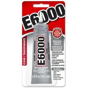 E6000 Glue Industrial Strength Multi-Purpose 110ml Jewellery Craft UK SELER 100%