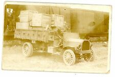 Mexico Border War-US MOTOR TRUCK-RPPC Postcard Mexican/Railroad/Military/Supply