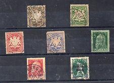 Baviera Valores del año 1888-920 (CR-382)