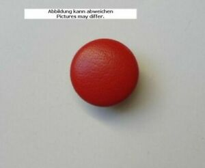 Leather Button Leather Buttons Red Genuine Leather Covered