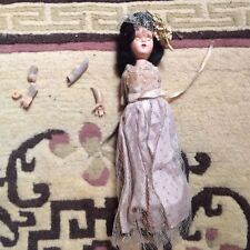 """Starlet Dot Formal Doll Dress (7"""") and Doll (7-1/2"""") thrown in for free j"""