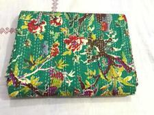 Wholesale Red Bird Kantha Quilt Bedspread Throw Cotton Blanket Gudari Twin70