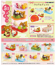 Miniatures San-X  Rilakkuma Omotenashi  Japanese Sweets Box Set  -  Re-ment