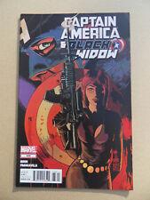 Captain America And Black Widow  636 . Marvel 2012 . VF - minus