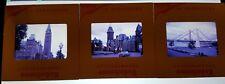 vintage kodachrome photo slide lot montreal canada landmarks cars etc