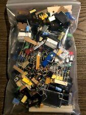 1 LB Quality GRAB BAG ELECTRONIC PARTS & COMPONENTS DIY ASSORTMENT NEW NO PULLS!