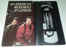 An American Werewolf In London Vhs Video Treasures Horror Excellent Condition