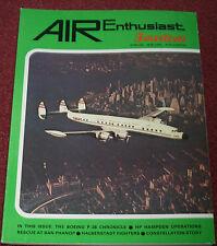 Air Enthusiast 14 Boeing P-26,Lockheed Constellation,Hampden,Halberstadt,TSR-2