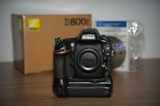 NIKON D800E DSLR + Battery Grip Shutter Count: 78,000