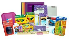 NEW School Supplies Essentials Bundle 104+ items Elementary & Middle Grades
