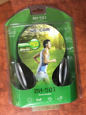 WE.Com Bluetooth Stereo HeadSet Wireless BH-501 With Charging Cable