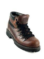 Prospector Hiking Rugged Full Grain Ankle Boots Size Men's US.7.5 / Women's US.9