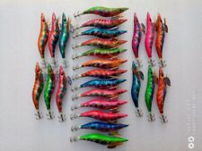 30pcs yamashita3.5# squid jig,fishing lure ,fishingtackle ,laser 13.5cm 21g.