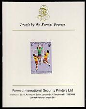 Maldive (490) 1976 PALLAVOLO HUNGARIAN SU CARTA FORMATO PROVA internazionale