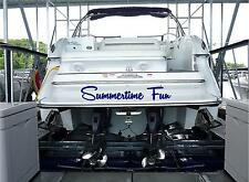 Personalized Boat Name Sticker 6x30 Custom Boat Name Stickers Decals