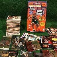 HUGE LOT Over 1000 NBA Basketball Sports Trading Cards TOPPS Skybox Upper Deck