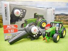 Siku Radio Control De John Deere 8345R Tractor Set 1/32 6881 Nuevo