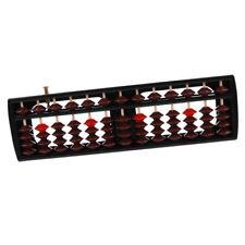 NUOVA plastica Abacus 13 cifre Perline PALLOTTOLIERE MATEMATICA aiuto apprendimento Nero