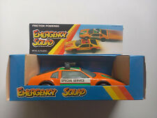Toyota mit Sirene - European Toy Company - DDR VEB Spielzeug