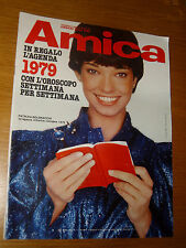 AMICA 1979/1= 9 GENNAIO =PATRIZIA BOLDRACCHI=SANDRA MILO=DOLLY JACOBS=PAGANI M.