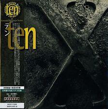 TEN X CD +1 - 2015 JAPAN RMST MLPS - Gary Hughes - Vinny Burns - Whitesnake