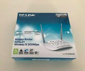 TP-LINK Modem Router 300Mbps Wireless N ADSL2+ TD-W8961ND