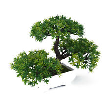 Bonsai Tree with Pot Artificial Plant Decoration Home Office Desk UK