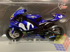☆ Valentino Rossi # 46 • Moto GP 2018  • Yamaha YZR-M1 - Movistar Monster - 1/18