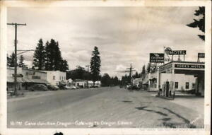 RPPC Cave Junction,OR Gateway to Oregon Caves Josephine County Sawyers Postcard