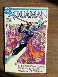 Aquaman (1986) # 1  Debut Of Aquaman Deep Sea Camo Costume