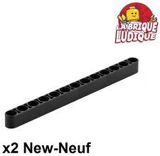 Lego Technic - 2x Liftarm 1x13 thick épais noir/black 41239 NEUF