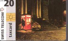 47-Scheda telefonica Phonecard Taxcard  Swiss Telecom Chf 20 sc. 07/99