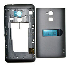 New HTC One Max Back Cover+Middle Frame Chassis Full Housing Black