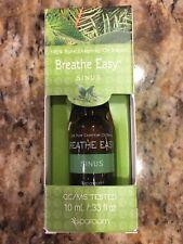 SpaRoom Breathe Easy Sinus 100% Pure Essential Oil - .33 fl oz