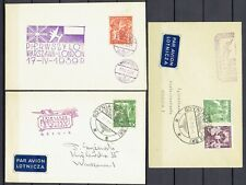 POLAND  ,, 3  ''  BEAUTIFUL  ( AIR )  COVERS  FROM    1939
