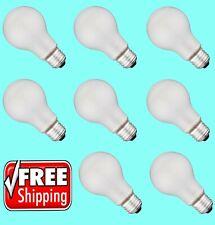 Incandescent Light Bulbs 100 Watt 75 Watt 60 Watt 40 Watt Soft White - 8 Bulbs