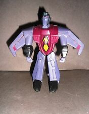 Transformers Animated 2008 STAR SCREAM Happy Meal McDoanld's Robot Mini Figure