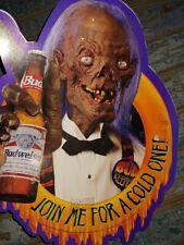 Rare Vintage 1995 Bud Light Anheuser Busch The Crypt Keeper Halloween Decoration