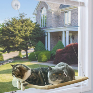 Cat Window Hammock Resting Seat Perch Safety Bed Suction Cups 30 Lbs Capacity