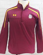 Under Armour 1/4 Zip Pullover Sweatshirt UMD Bulldogs Duluth Men's S Loose