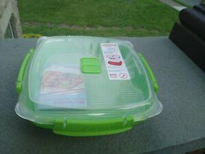 Sistema Microwave 29.75 oz / 880ml Microwave Steamer GREEN *New* NO BOX