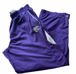 Kansas State Wildcats Nike Authentic Men's lightweight track Pants 3XL pockets