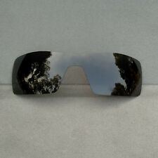 Black Replacement Lenses for-Oakley Oil Rig Sunglasses Polarized