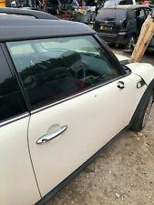 2010 Mini Mini Clubman Cooper D R55 LCI (07-14) White OS Right Front Door BARE