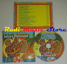 CD FIESTA LATINA Salsa e merengue 2 ANDY MONTANEZ DANNY ROJO lp mc dvd vhs*(C15)