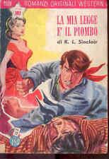 I6  COLLANA RANCH ROMANZI ORIGINALI WESTERN N. 72 AGOSTO 1959 - EDIZ. DARDO