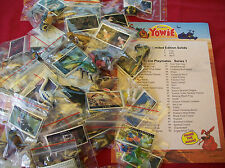 YOWIES SERIES 1 * COMPLETE FULL SET OF ALL 50 AUSTALIAN & N Z ANIMALS