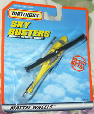 2000 MATCHBOX SKYBUSTERS YELLOW RESCUE HELICOPTER Diecast 5+ Boys & Girls